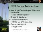 nps focus architecture