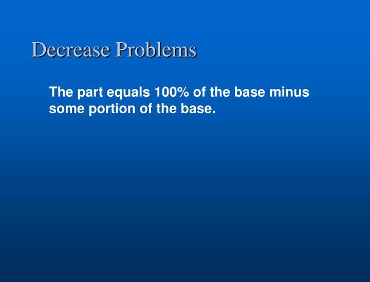 Decrease Problems