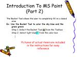 introduction to ms paint part 2