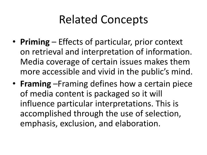 Related Concepts