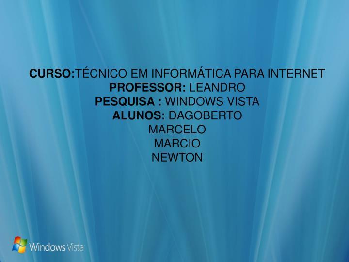 CURSO: