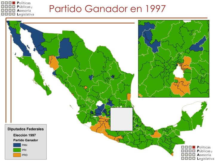 Partido Ganador en 1997