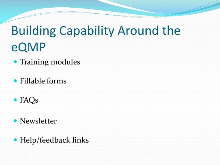 Building Capability Around the