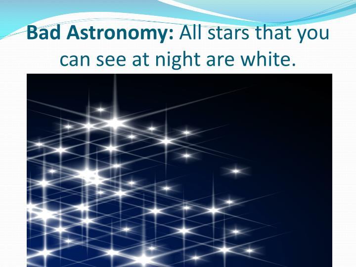 Bad Astronomy: