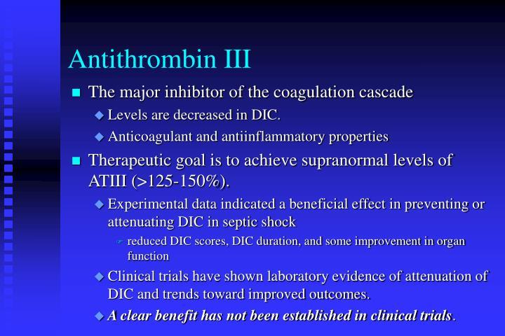 Antithrombin III