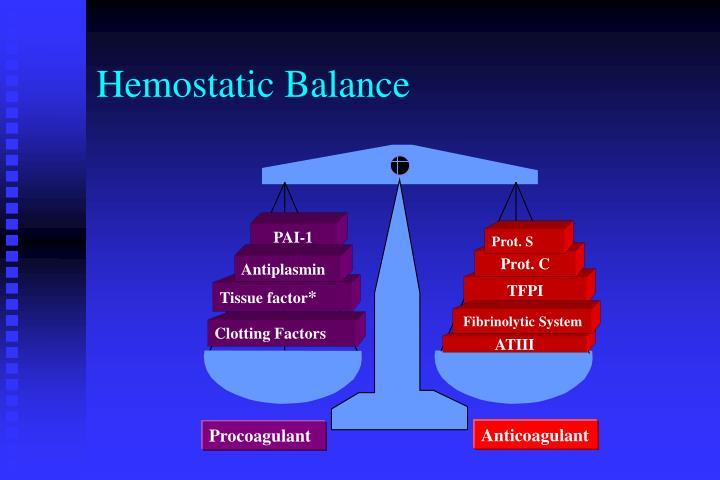 Hemostatic Balance