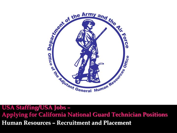 usa staffing usa jobs applying for california national guard technician positions n.