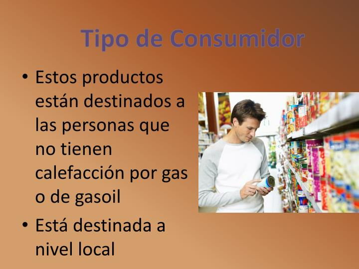 Tipo de Consumidor