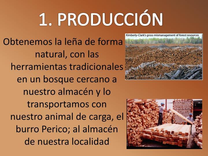 1. PRODUCCIÓN