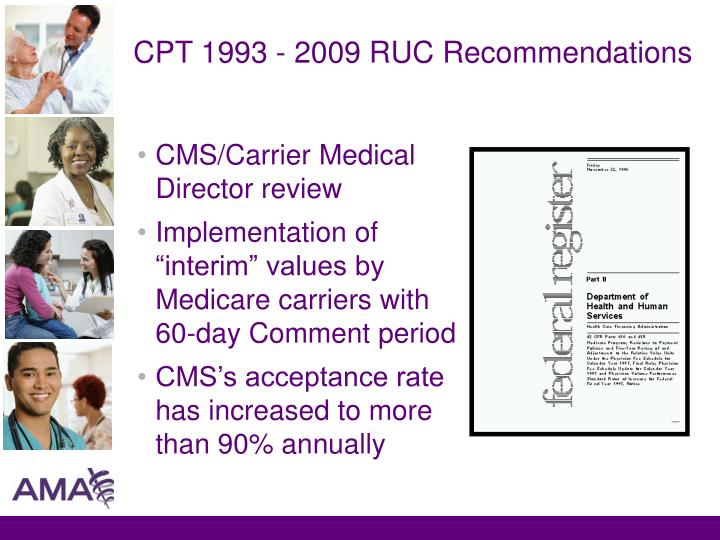 CMS/Carrier Medical Director review