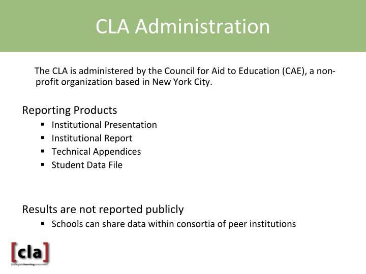 CLA Administration