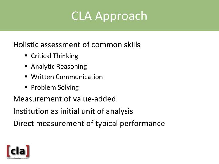 CLA Approach