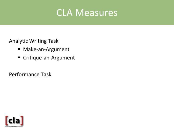 CLA Measures