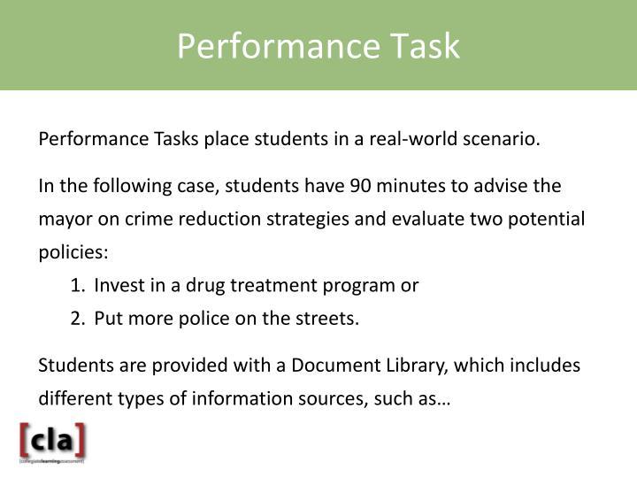 Performance Task