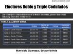 electores doble y triple cedulados1