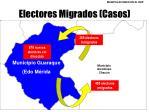 electores migrados casos