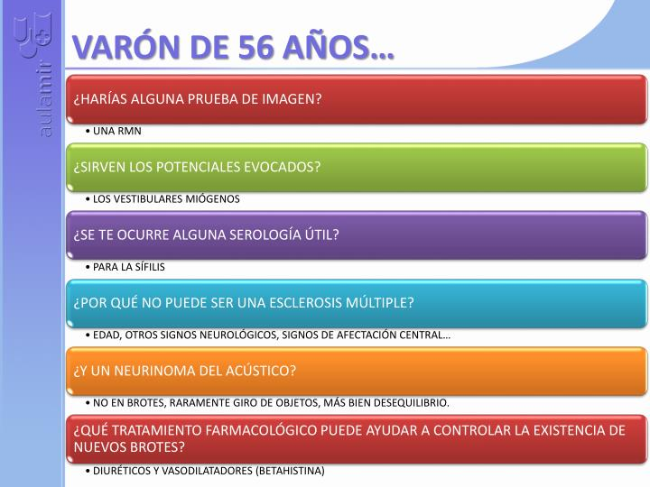 VARÓN DE 56 AÑOS…