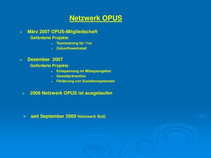 Netzwerk OPUS