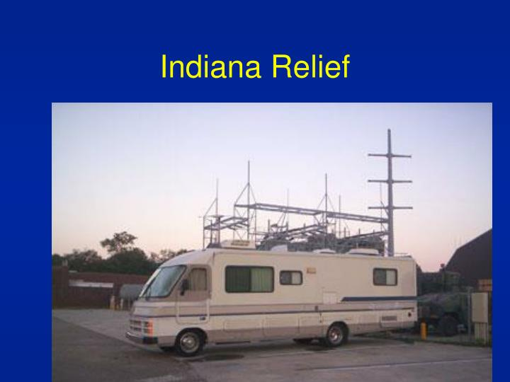 Indiana Relief