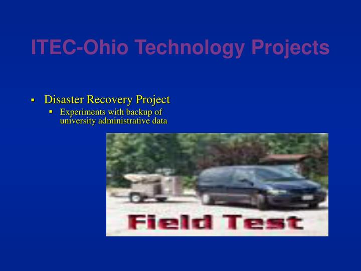 ITEC-Ohio Technology Projects