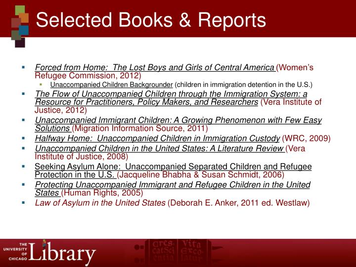 Selected Books & Reports