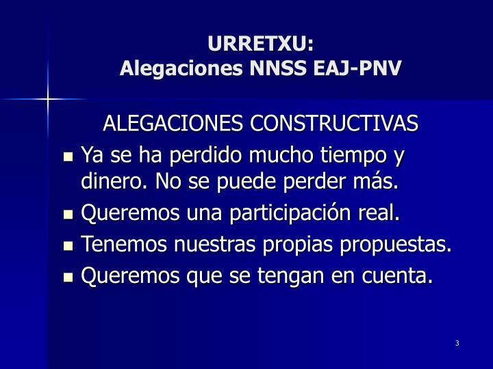 Urretxu alegaciones nnss eaj pnv2