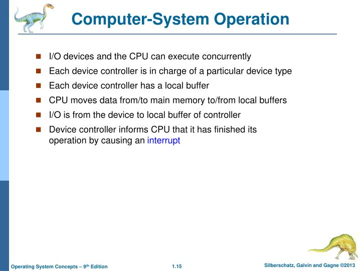 Computer-System Operation