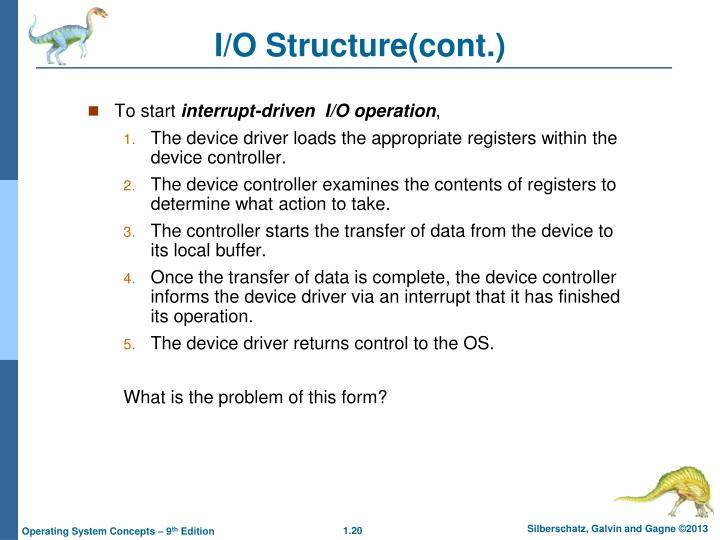 I/O Structure(cont.)
