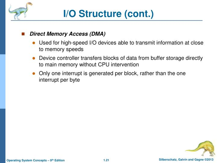 I/O Structure (cont.)