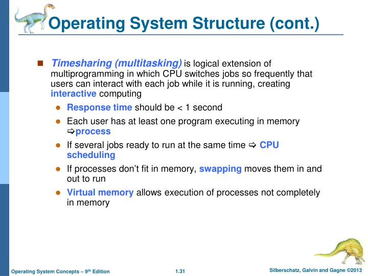 Operating System Structure (cont.)