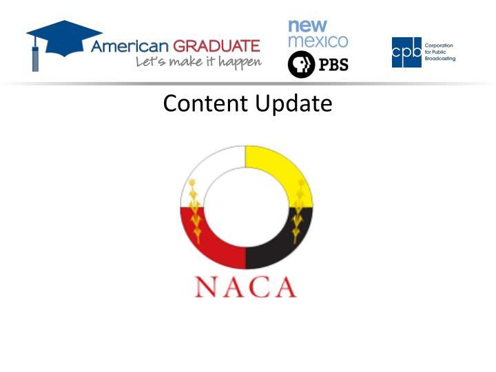 Content Update