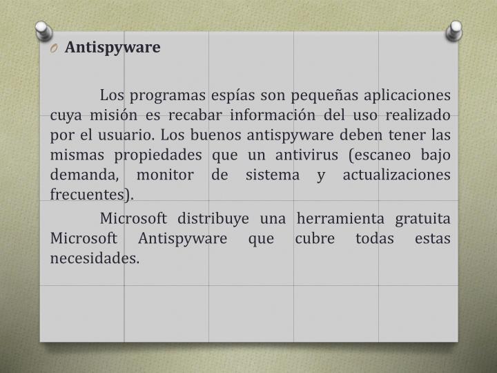 Antispyware