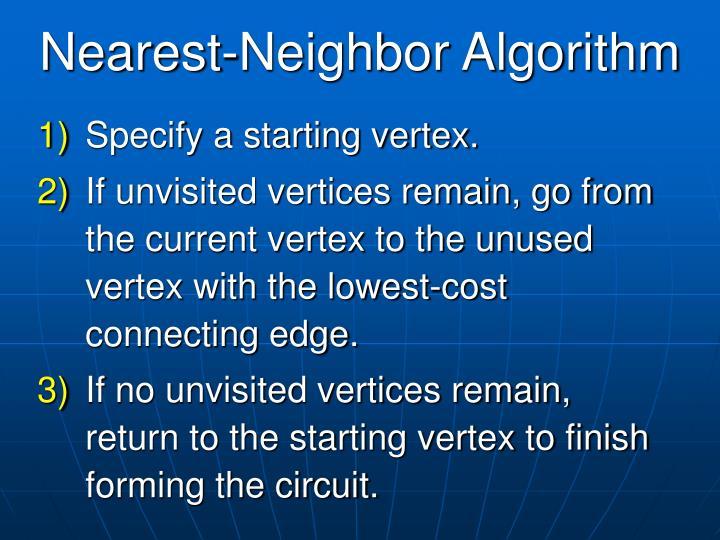 Nearest-Neighbor Algorithm