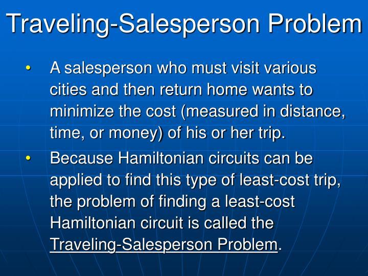 Traveling-Salesperson Problem