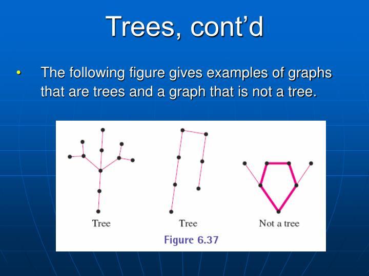 Trees, cont'd
