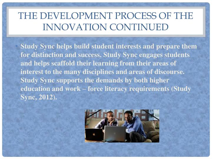 The development process of the