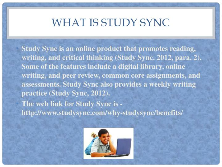 What is study sync