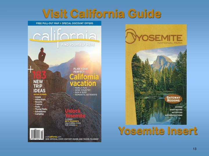 Visit California Guide