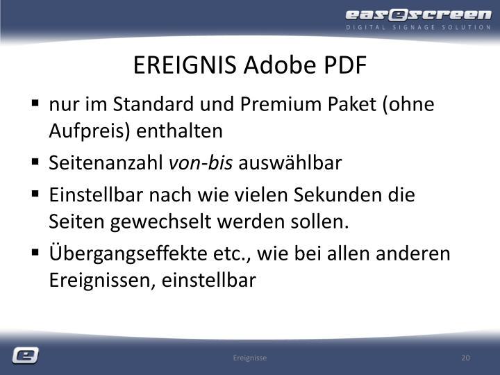 EREIGNIS Adobe PDF