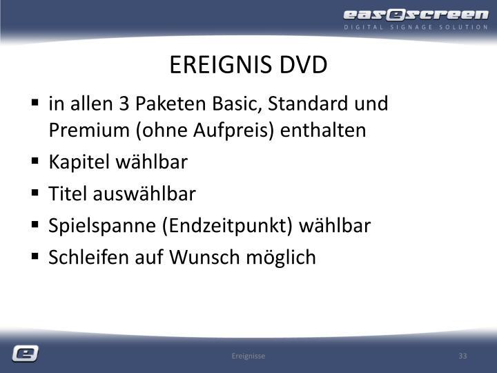 EREIGNIS DVD