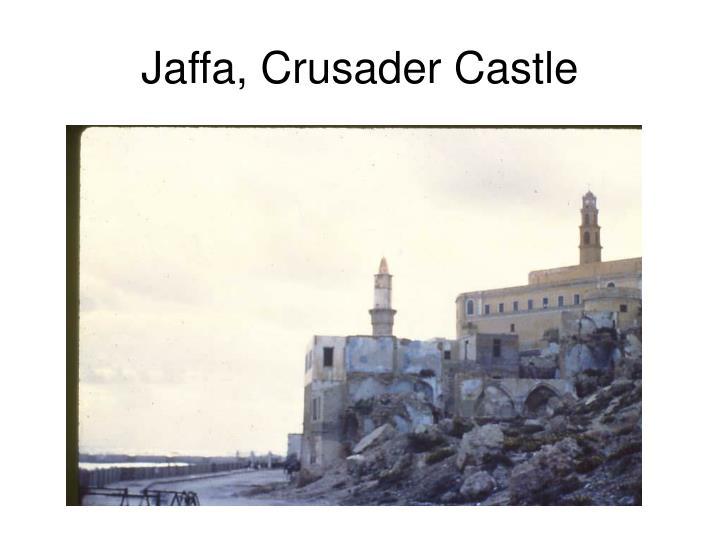 Jaffa, Crusader Castle
