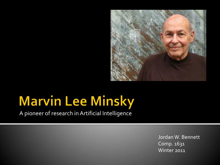 A pioneer of research in artificial intelligence