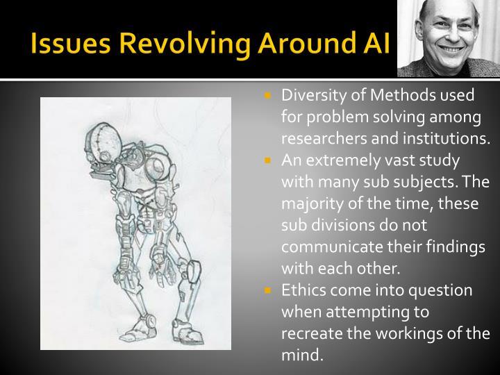 Issues Revolving Around AI