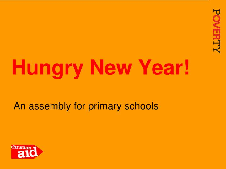 hungry new year n.