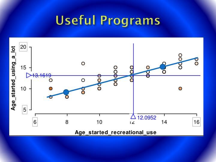 Useful Programs