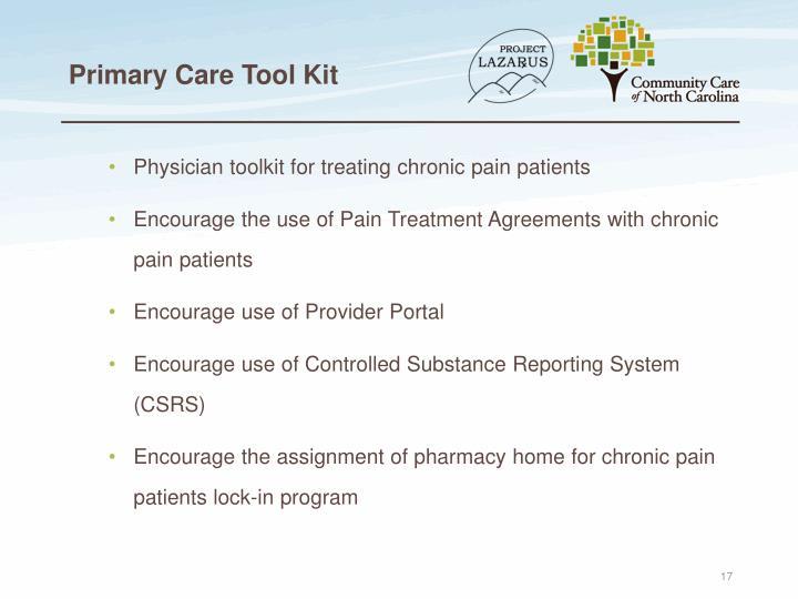 Primary Care Tool Kit