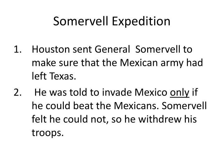 Somervell Expedition