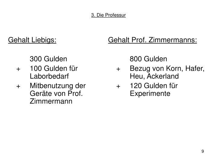 Gehalt Liebigs:
