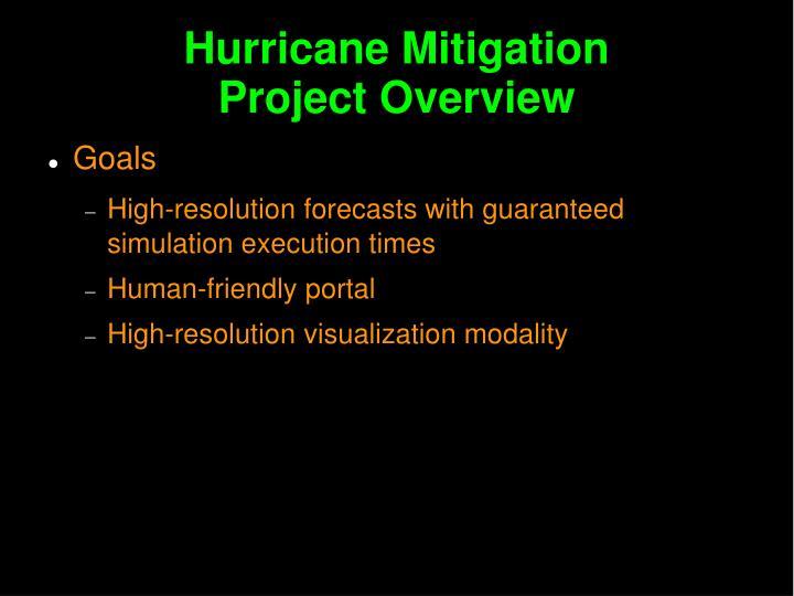 Hurricane Mitigation