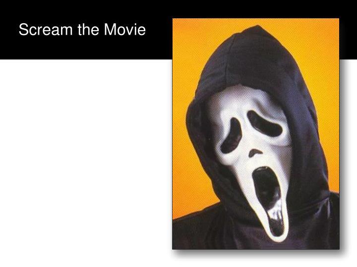 Scream the Movie